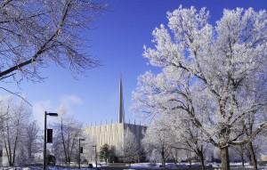 Chapel in the Winter